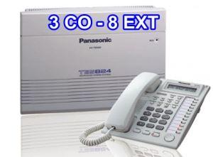 Tổng đài điện thoại Panasonic KX-TES824-3-8